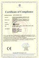 粤龙照明灯管CE证书1SR-2
