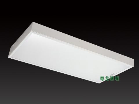 2*20W 明装乳白机片--格栅灯盘