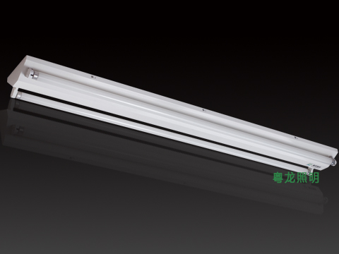 2*40W钢板三角灯管支架