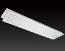 2*40W 乳白机片--格栅灯盘