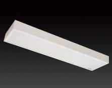 2*40W 明装乳白机片--格栅灯盘