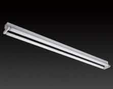 2*40W 欧式T8平盖灯管支架